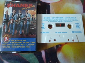 SHANES, LET´S DANCE 2, 60-TALS PARTY, JA JAG KAN, THE SHOOP SHOOP SONG, KASSETT