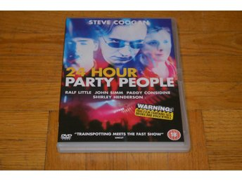 24 Hour Party People ( Steve Coogan ) 2002 - DVD