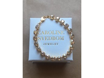 Caroline Svedbom Mini Stud Bracelet Golden Shadow