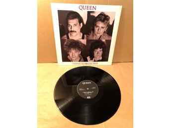 Queen - I want to break free Maxi 12:a!