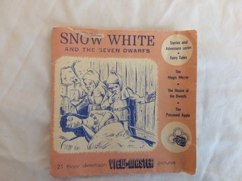 View Master Bildskivor Snow White and the seven dwarfs