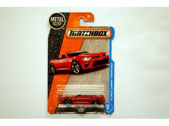 Matchbox - 2016 Chevrolet Camaro Convertible