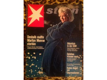 Marilyn Monroe magazine cover 1966. Stern. Germany