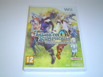 Tales of Symphonia Dawn of the New World Nintendo Wii PAL *NYTT*