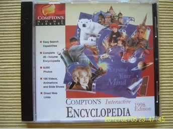 PC - Compton´s interactive encyclopedia 1998 edition