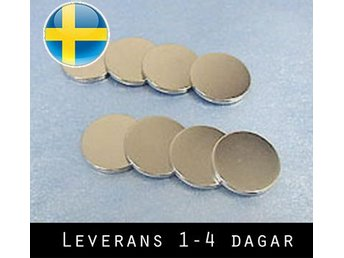 Snabb Leverans 10-Pack 15x1mm Superstarka Magneter Neodymium Disc Rare Earth N35