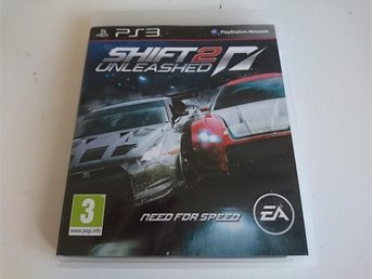 - Need for Speed Shift 2 Unleashed PS3 -
