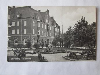 Sölvesborg - Sparbanken ~1930 - Segeltorp - Sölvesborg - Sparbanken ~1930 - Segeltorp