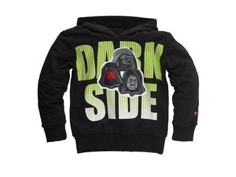 LEGO STAR WARS, SWEATSHIRT MED HUVA 'DARK SIDE', SVART (110)