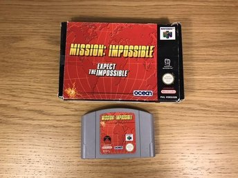 Mission Impossiblie - Expect the Impossible - Nintendo 64
