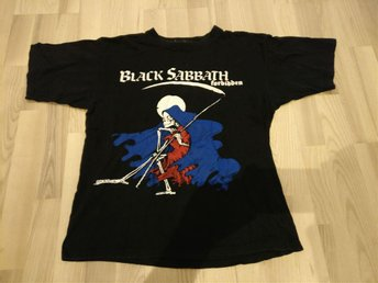 Hårdrock Black Sabbath t-shirt forbidden