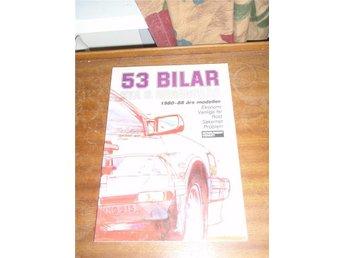 53 Bilar Nya & Begagnade 1980-88 års modeller - Norsjö - 53 Bilar Nya & Begagnade 1980-88 års modeller - Norsjö
