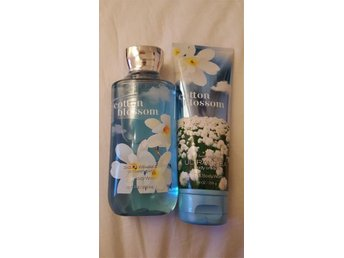 Bath & body Works COTTON BLOSSOM shower gel & body cream