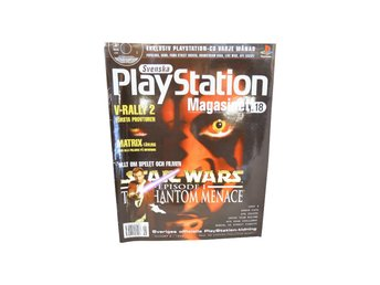 Svenska Playstation magasinet Nr 18