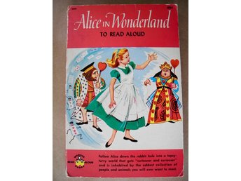 ALICE IN WONDERLAND To Read Aloud Oscar Weigle Lewis Carroll Sergio Leone 1963