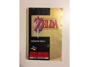Zelda A Link to the Past manual