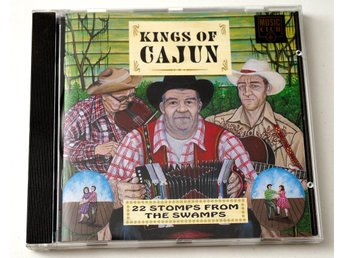 Kings of Cajun / 22 Stomps from The Swamps CD