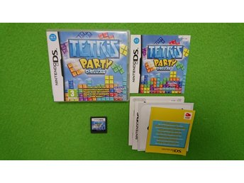 Tetris Party Deluxe KOMPLETT Nintendo DS