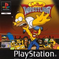 PS1 - Simpsons Wrestling (Beg)