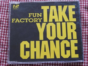 Fun Factory - Take Your Chance CD Single 1994