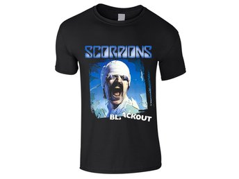 Scorpions - Blackout  Barn T-Shirt