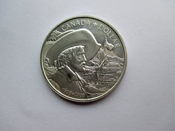 Canada, 1 dollar, 2008 Founding of Quebec  KM#785