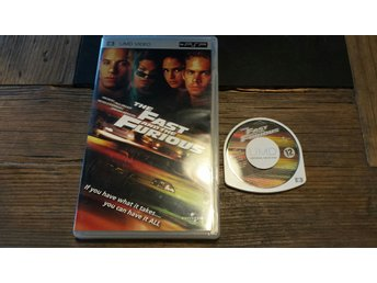 Fast and the Furious Sony PSP UMD Film