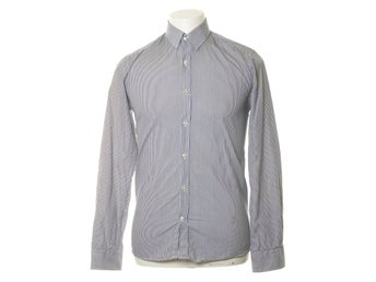 Selected Homme, Buttondown-skjorta, Strl: S, Blå/Vit, Bomull