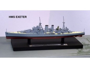 Atlas Editions Battleship Series - HMS Exeter - 1/1250 scale