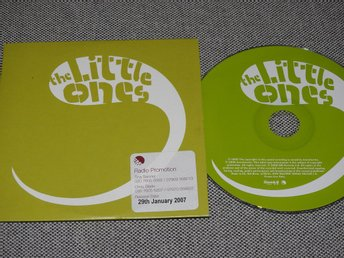 The Little Ones - Oh MJ! CD Singel Promo (pappfodral)