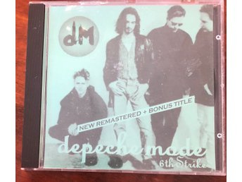 Depeche Mode - 6th Strike - promo - CD i nyskick!