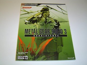 Metal Gear Solid 3 Subsistence Guide *NYTT*