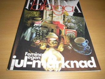 TIDNING FEMINA 46/1970 MODE INREDNING JULMARKNAD - Uppsala - TIDNING FEMINA 46/1970 MODE INREDNING JULMARKNAD - Uppsala