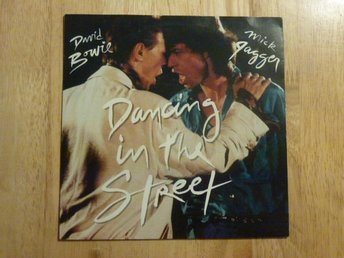 "BOWIE/JAGGER - Dancing in the streets EMI Holland -84 7"" singel"