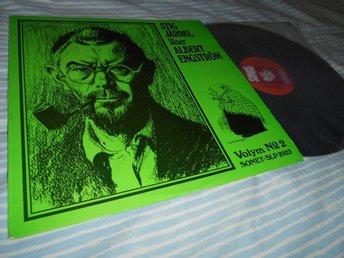 Stig Järrel läser Albert Engström Vol 2 (LP) NM/EX Rare!