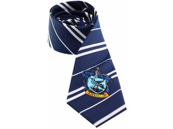 Harry Potter Tie - Necktie - Ravenclaw Blue slips