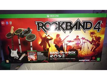 Rock Band 4 full band set Xbox one Edition med Spel!