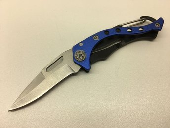 Mini kniv Blå 11,8cm fällkniv - Arboga - Mini kniv Blå 11,8cm fällkniv - Arboga