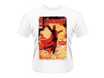 MARVEL AVENGERS-VISION COVER T-Shirt - Large