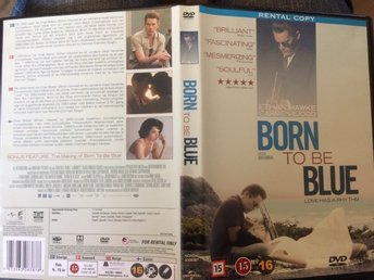 Born To Be Blue dvd Chet Baker jazz biopic Fri frakt!