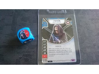 Star Wars destiny Palpatine