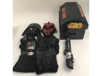 Star Wars, Maskeraddräkt, Darth Vader & Darth Maul, 2 st, Strl: 128