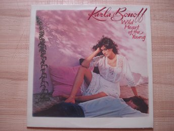 LP:n Karla Bonoff Wild heart of the young