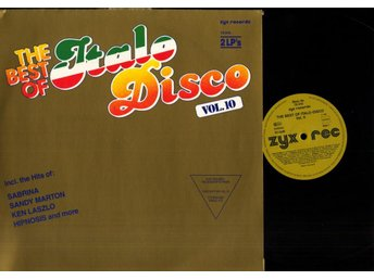 VARIOUS - THE BEST OF ITALO DISCO VOL. 10