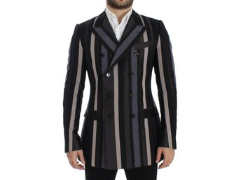 Dolce & Gabbana - Multicolor striped wool slim blazer