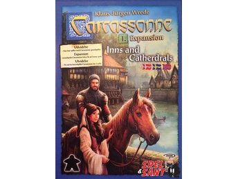 Carcassonne Inns And Cathedrals Expansion (Svensk Version)
