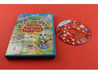 ANIMAL CROSSING AMIIBO FESTIVAL till Nintendo Wii U