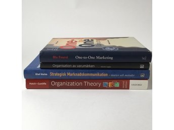 Böcker, One-to-One Marketing, Organizing Theory, m.m