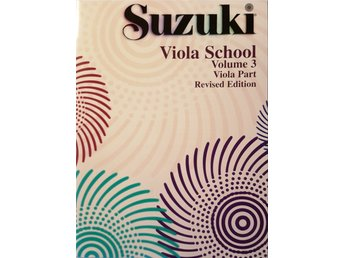 Suzuki viola school volume 3, revised edition