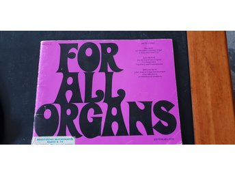 For All Organs av Mark Corby Heft/vol 2  ELORGEL NOTHÄFTE KURSBOK